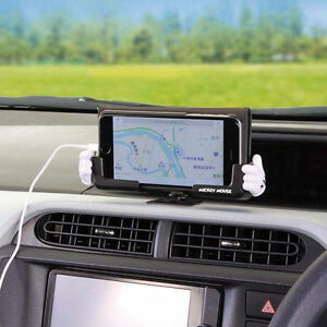Details about DISNEY Mickey Mouse Mobile Phone Holder Dashboard Phone GPS  Car Accessories