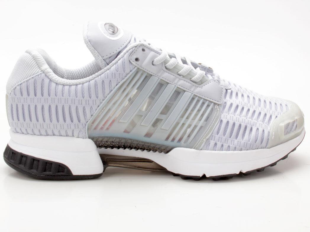 Details zu Adidas Neo Herren Schuhe Sneaker Cloudfoam Ultimate Grau Weiß Schnürer Sport