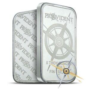 Provident Metals 5 oz .999 Silver Bar