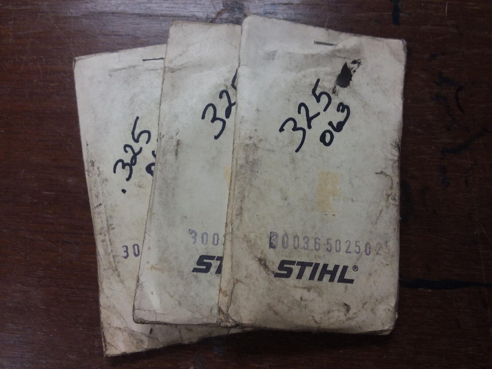 (3) NOS Stihl Bar Sprocket Part   3003-650-2502