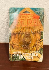 VINTAGE STAR WARS RETURN OF THE JEDI WICKET THE EWOK COLLECTABLE ERASER 1983