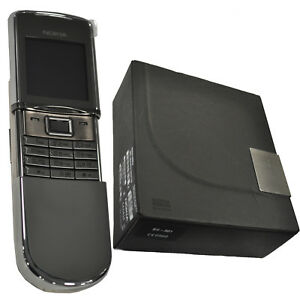 New-Nokia-8800D-Sirocco-Silver-Factory-Unlocked-English-Russian