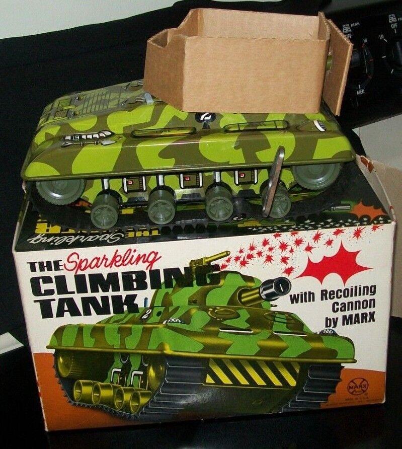 1976 mini Marx Juguetes flash súper tank W W W   nrib 1ab