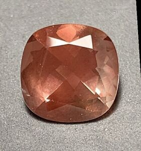 RRRRICH WONDERFUL RED!!  terrific!!! FACETED BRIGHT RED COPPER  Or. SUNSTONE