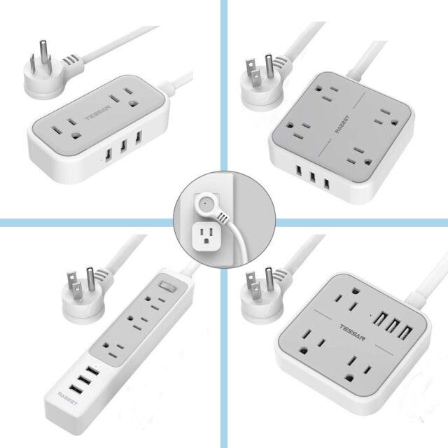 Strip 4 Outlets Extension PD Charging EU Plug Electrical Socket Power Strip