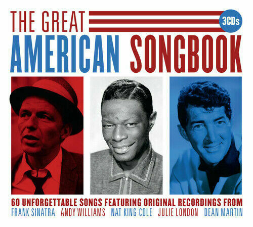 Various Artists - The Great American Songbook 3xCD 2015 Sinatra, Dean Martin