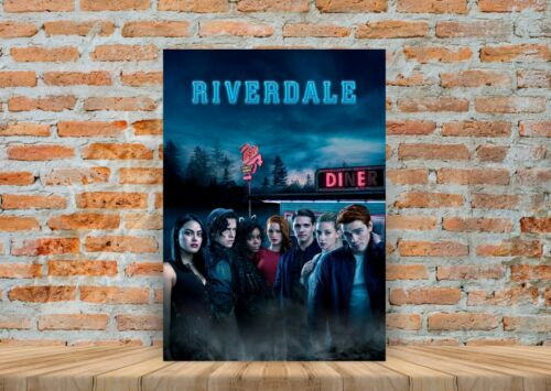 A3 A4 Sizes Riverdale TV Show Poster or Canvas Art Print