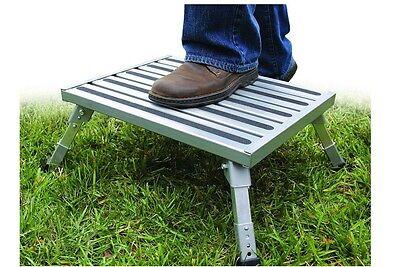 Camper Rv Step Stool Motor Home Aluminum Non Slip