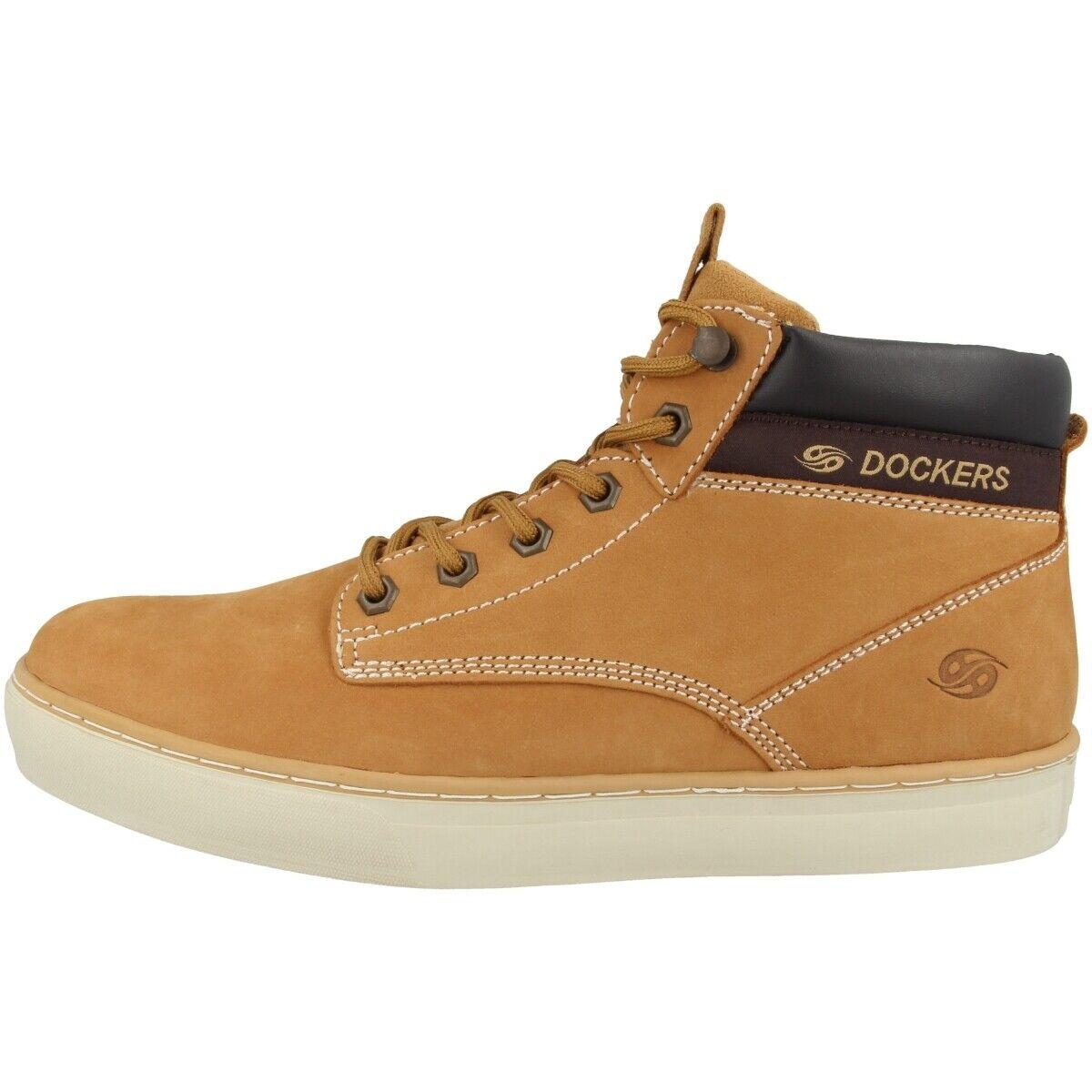Dockers by Gerli 33EC010 Schuhe Herren Stiefel Stiefel Golden tan 33EC010-300910