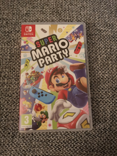 Super Mario Party, anden nintendo, Super Mario Party til…