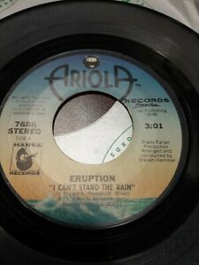 45-Record-Eruption-I-Can-039-t-Stand-the-Rain-Be-Yourself-VG-Disco-Soul