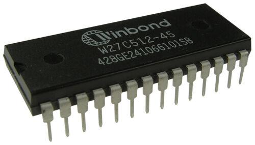 W27C512-45Z  WINBOND INTEGRATED CIRCUIT DIP-28 W27C512-45Z