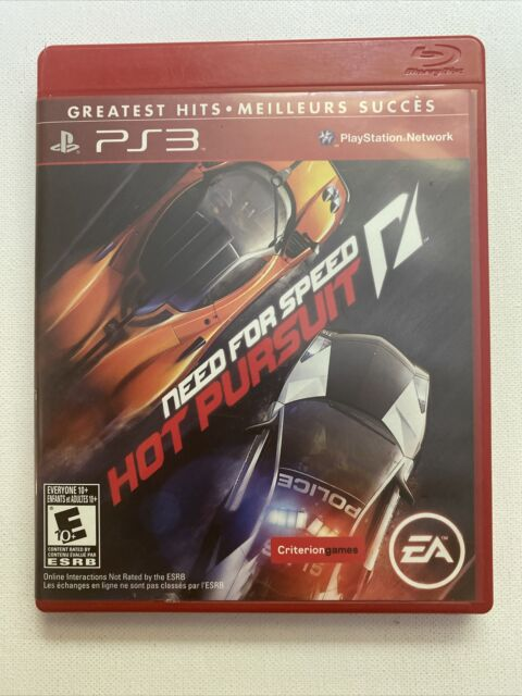Need for Speed: Hot Pursuit (Sony PlayStation 3, 2010) PS3 - Greatest Hits