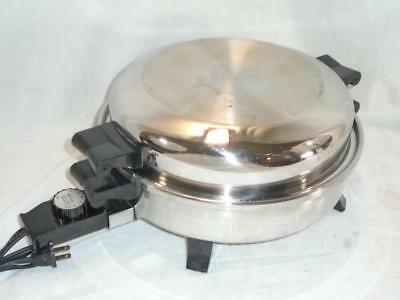 Small Stainless Steel Electric Fry Pan