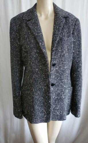 Max Mara Made in Italy Jacket Tweed  Boxy Blazer W