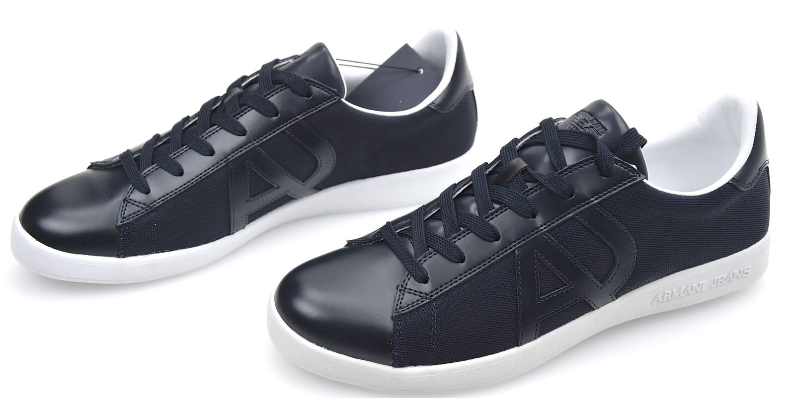 ARMANI JEANS MAN SNEAKER SHOES CASUAL FREE TIME CODE 935565 CC503
