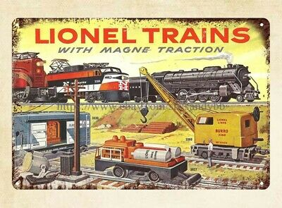 Vintage Look Reproduction Metal Sign 1892 Burlington Route Railroad Map