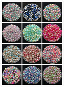 12mm-40pcs-lot-With-Hole-Rainbow-Round-Loose-Acrylic-Beads-DIY-Jewelry-Making