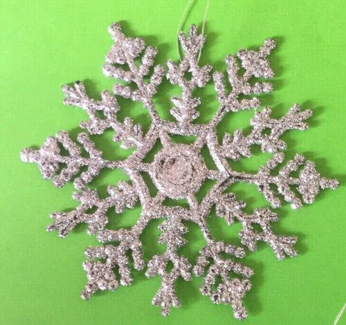 chambre décoration d/'intérieur Noël Flocons de Neige Noël Hanging paillettes pendentifs arbre