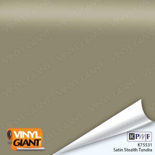 KPMF K75531 SATIN STEALTH TUNDRA Vinyl Vehicle Car Wrap Film Roll Decal Sticker