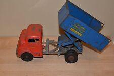 Vintage Structo, 1950's Windup Toyland Construction Dump Truck High lift 844