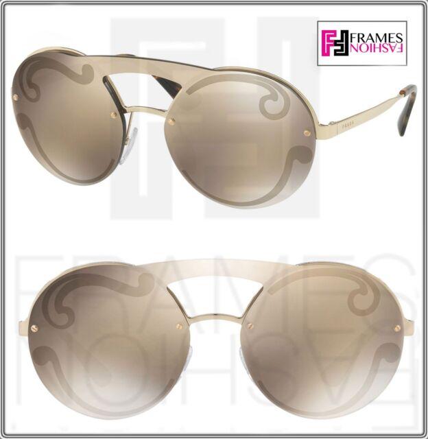 89cec9d4865 Women s PRADA Sunglasses Spr 65t Gold Havana Zvnodw Authentic for ...