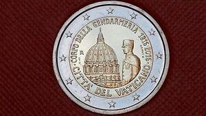 2-euro-VATICAN-2016-Gendarmerie-Vaticano-Vatikan-sans-coffret
