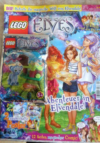 Miku Enki Rivista LEGO Elves CON MINI PERSONAGGIO selezionare Mr SPRY Hidee Flamy