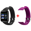 Smart-montre-Bracelet-Bracelet-Fitness-Rythme-Cardiaque-BP-Monitor-for-iPhone-Android miniature 19