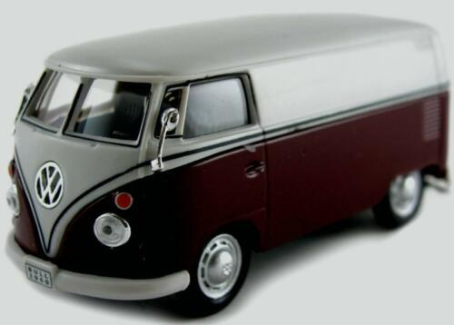 Van NEU in OVP Transporter 1:43 Cararama Modellauto VW T1 Samba Bus