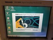 Tektronix Tds8000 Dc 50 Ghz Sampling Oscilloscope Upgraded Memory Amp Storage