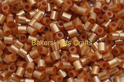 ~ 1000 GOLD Hama / Perler Beads **Great Kids Craft