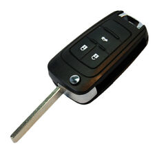 HQRP Carcasa para llave de 3 botones Chevrolet Cruze Mando remoto