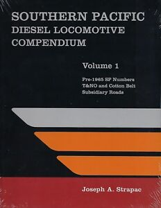 SOUTHERN-PACIFIC-DIESEL-Locomotive-Compendium-Vol-1-Out-of-Print-NEW-BOOK