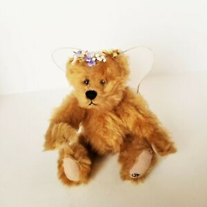 Ganz Retired Cottage Collectibles Christine Angel Teddy Bear Euc Fully Jointed Ebay