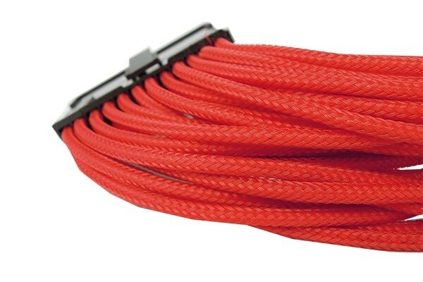 Extension cable braided gelid solutions 24 pin EPS 300 mm red m6b1 m6b1