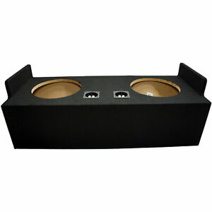 Custom Chevy S10 Ext Cab Truck 82-04 Dual 12 Subwoofer Sub Box Enclosure