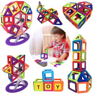 142pcs Magnetische Bausteine Spielzeug Für Kinder Lernspielzeug Bauen Blöcke