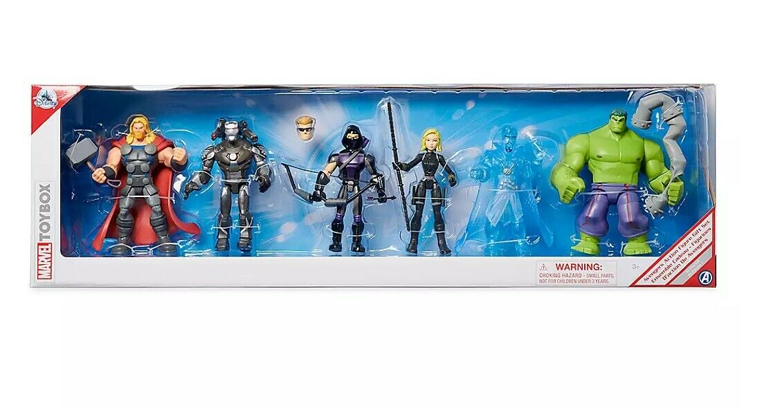 Marvel's Avengers Marvel giocattoloscatola azione cifra Gift Set nuovo