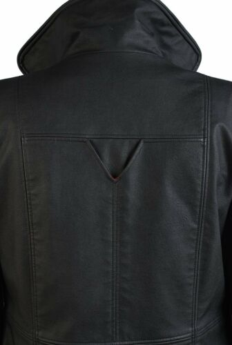 Wesley Snipes Blade Costumes Leather Vest Coats Trench for Man Cosplay Tailored
