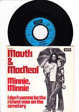 "7""  Mouth & MacNeal - Minnie, Minnie -----"