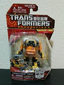 Transformers Generations Sandstorm Complete GDO Scout Asia TRU