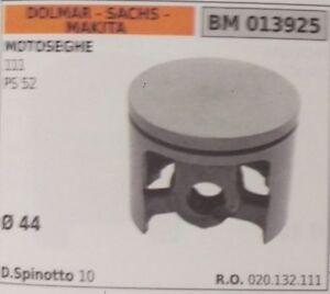 020132111 Piston Complet Scie À ChaÎne Sachs Dolmar Makita 111 Ps 52 D. 44