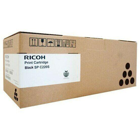 Ricoh GENUINE/ORIGINAL BLACK Copier Toner Cartridge 406059 SP C220S/220 *NEW*