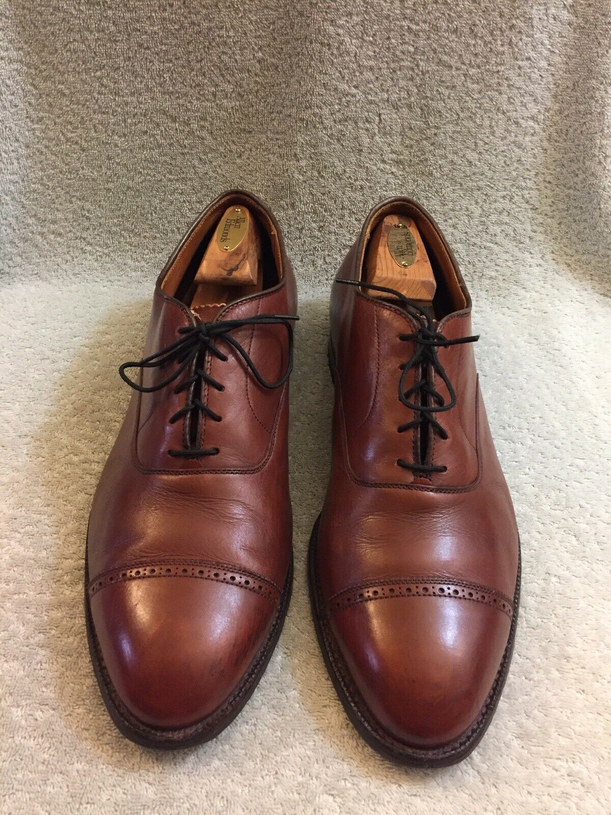 Alden 900 Oxford Cap Toe Chaussures Made in USA Homme Taille 12 C E