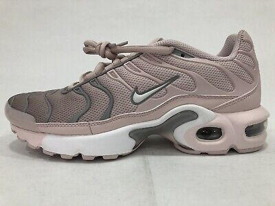 Nike Air Max Plus Women's TN Tuned 1GS Barely Rose Pink Grey White Trainer Sz6Y | eBay