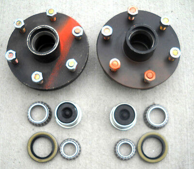 1-5x4.5 Idler Hub with 3500# Bearing Kit Replace Trailer Axle fits Dexter ALKO