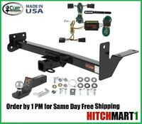 Fits 1998-2004 Isuzu Rodeo W/ Door Mounted Spare, Curt Trailer Hitch Package