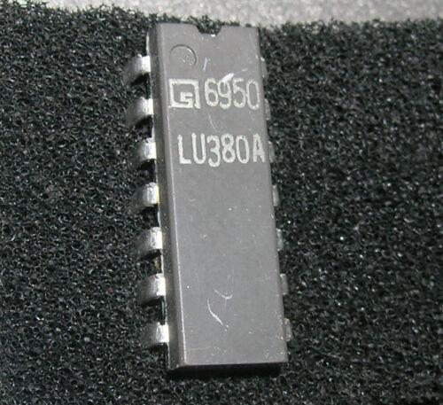 Rare LU380A Quad 2-lnput NOR Gate IC Collectible
