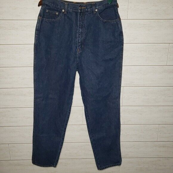High Waisted M Denim Vintage Women/'s 80/'s Braxton Jeans Tapered Leg